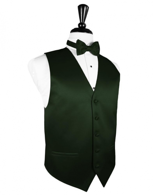 Holly Luxury Satin Tuxedo Vest