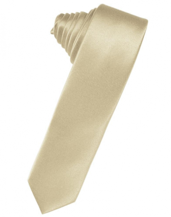 Berry Luxury Satin Skinny Necktie