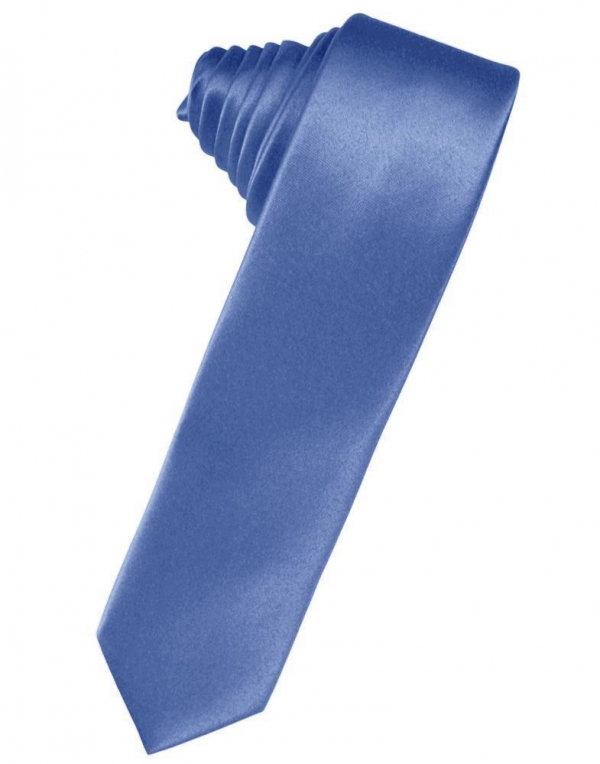 Freesia Luxury Satin Skinny Necktie
