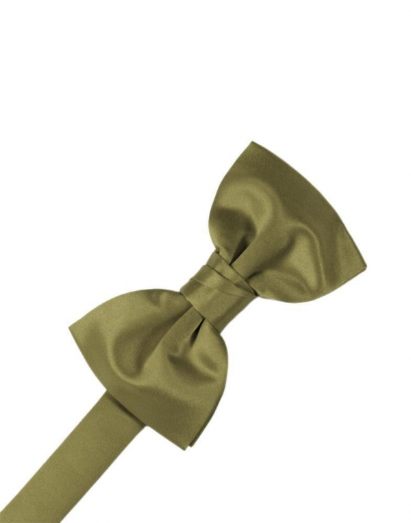 Fern Luxury Satin Bow Tie