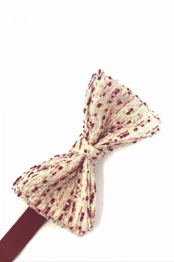 Golden Cherry Laurent Bow Tie