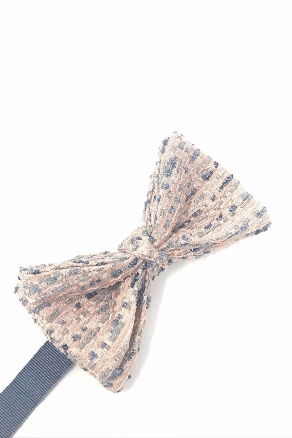 Pale Pink Laurent Bow Tie