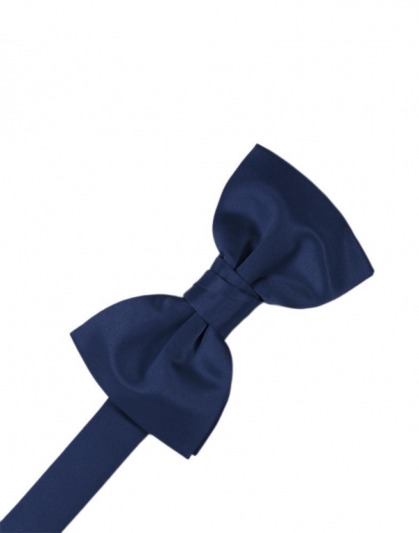 Peacock Luxury Satin Bow Tie