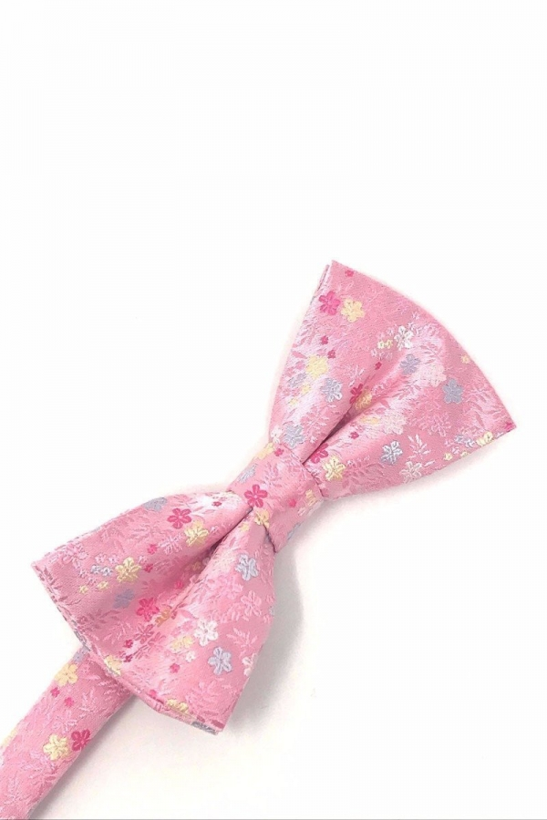 Pink Enchantment Bow Tie