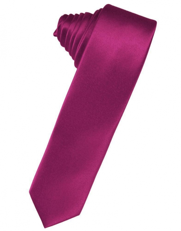 Willow Luxury Satin Skinny Necktie