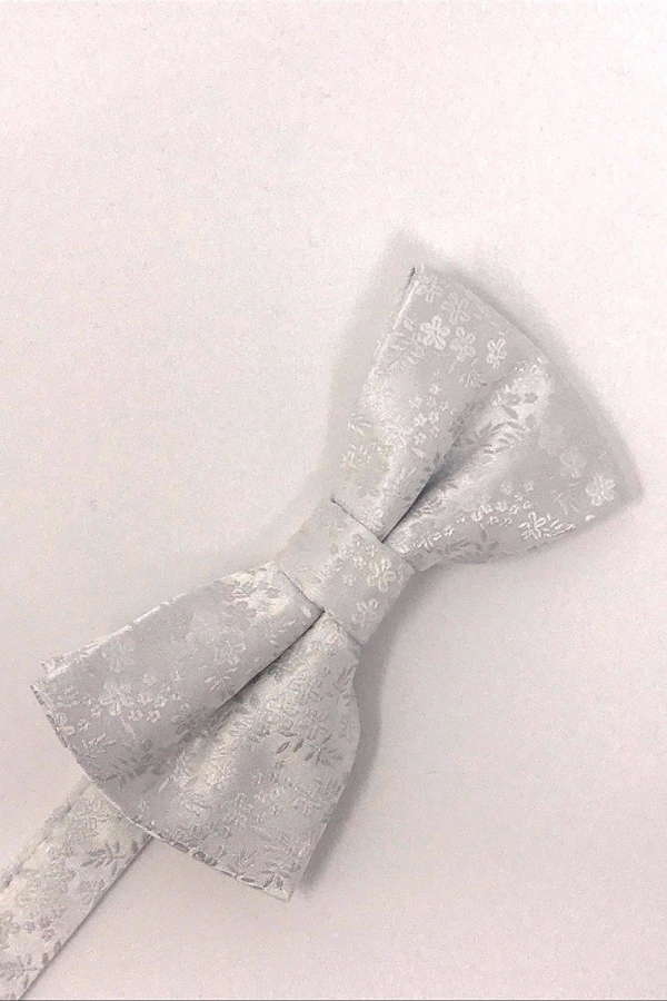 White Enchantment Bow Tie