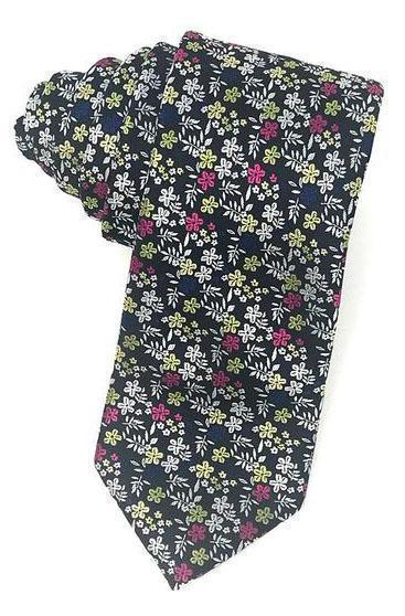 Navy Enchantment Necktie