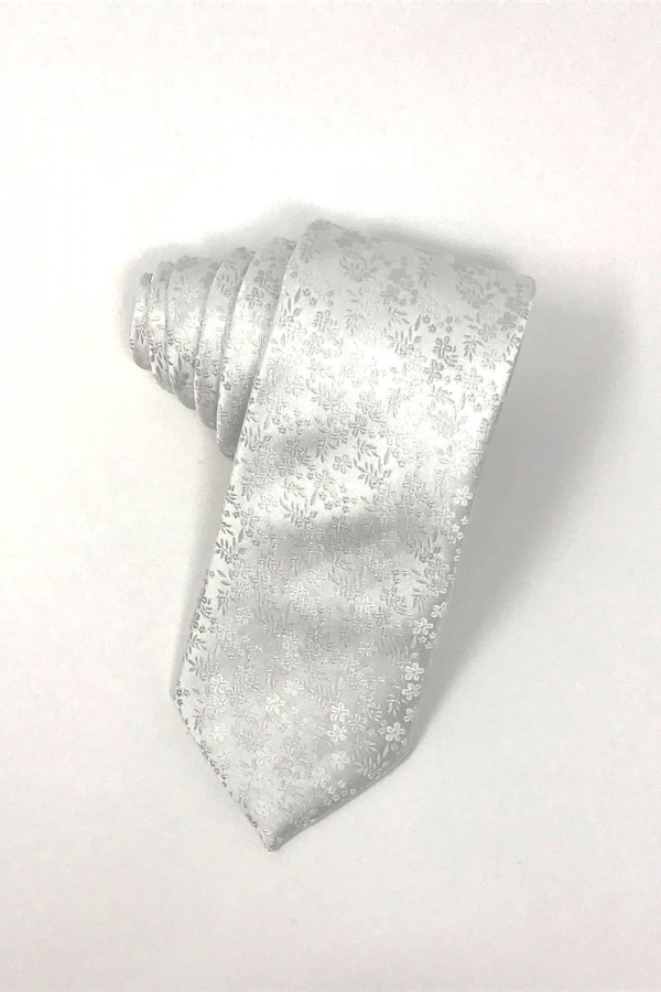 White Enchantment Necktie